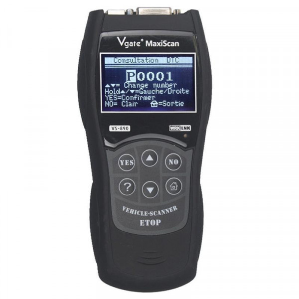 Vgate VS890 Professional Diagnostic Code Scanner Tool, Supported Multi Languages