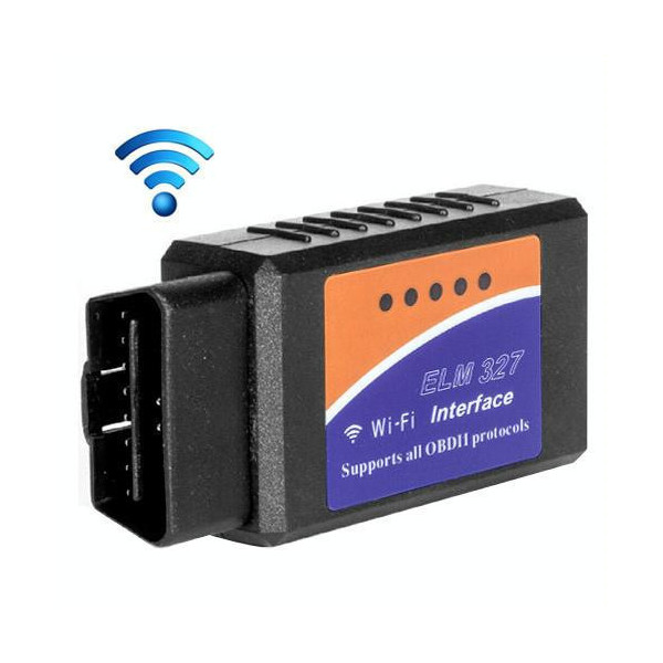 Portable ELM327 OBDII WiFi Car Diagnostic Interface Scanner Support All OBDII Protocols