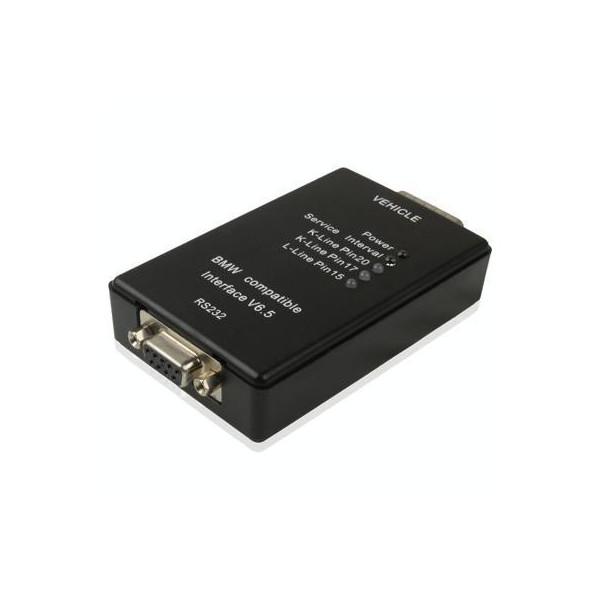 For BMW Carsoft 6.5 OBDII Car Diagnostic Tool(Black)